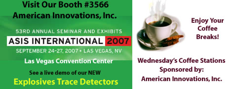 American Innovations Sponsor at ASIS
