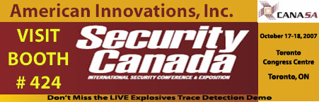 American Innovations at Security Canada Expo 2007